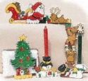 Country Christmas Woodcraft Pattern