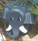Layered Elephant Woodcraft Pattern