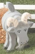 Layered Goat Woodcraft Pattern