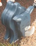 Layered Rhino Woodcraft Pattern