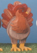 Layered Hen Woodcraft Pattern