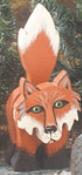 Layered Fox Woodcraft Pattern