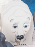 Layered Polar Bear Woodcraft Pattern