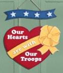 Door Troop Heart Woodcraft Pattern