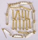 Gold Bar Pin 1 1/4