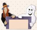 Halloween Peeking Pals Pattern #1