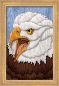 Majestic Eagle Wall Art Scroll Saw Pattern
