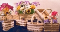 Wooden Basket Pattern Set #1