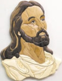 Christ Intarsia Scroll Saw Pattern