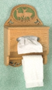 Wildlife Tissue Box/Towel Rack Scroll Saw Patterns