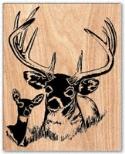 Deer Portrait Scroll Saw Pattern