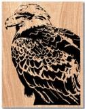 Eagle Pose Scroll Saw Pattern