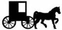 Amish Buggy Shadow Wood Pattern