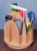Remote Control Caddy Woodworking Plan