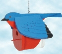 Bluebird Birdhouse Woodworking Pattern