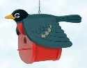 Robin Birdhouse Woodworking Pattern