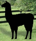 Llama Yard Shadow Woodcraft Pattern