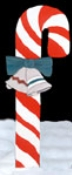 Candy Cane Woodcrafting Pattern