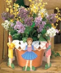Flower Pot Fairies Woodworking Plan