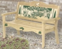 Bear Ridge Bench Wood Pattern