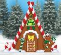 Gingerbread Ski Shop Woodcrafting Pattern