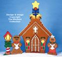 Gingerbread Church Wood Pattern