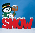 Let It Snowman Woodcraft Pattern