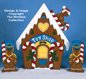 Gingerbread Toy Shop Woodcraft Pattern
