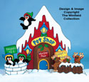 North Pole Pet Shop Woodcraft Pattern