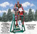 Christmas Ferris Wheel Riders Pattern