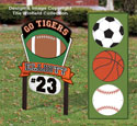 Multi-Sport Personalized Sign Plan