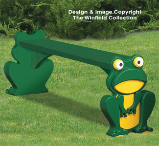 Frog Bench Wood Plans