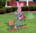 Gardening Easter Bunny Woodcraft Pattern