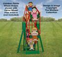 Children Ferris Wheel Riders Pattern