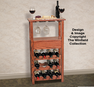 Tables Wine Rack Wood Project Plan