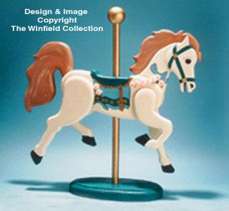 Carousel Horse Woodcraft Pattern