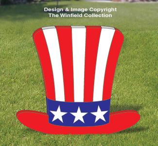 Medium Uncle Sam Hat Pattern