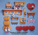 12 Country Heart Shelf Patterns