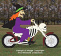 Motorcyclin' Witch Pattern