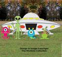 Large Alien Landing Pattern Set