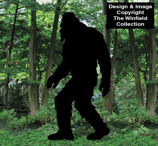 new items bigfoot woodcraft pattern On yard shadow patterns