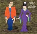 Frank and His Bride Pattern Set