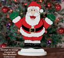 Tabletop Dancing Santa Plan