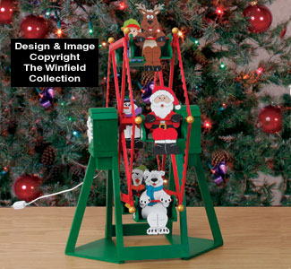 tabletop ferris wheel and riders plan - Christmas Ferris Wheel Decoration