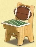 Football Chair Woodcraft Pattern