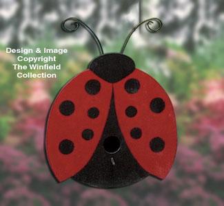Ladybug Birdhouse Project Plan
