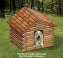 Landscape Timber Doghouse Plans