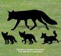 Fox Family Shadow Patterns