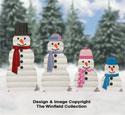 Landscape Timber Snowmen Plans