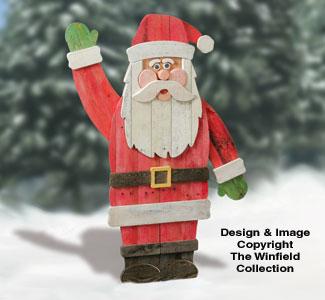 Pallet Wood Santa Plan